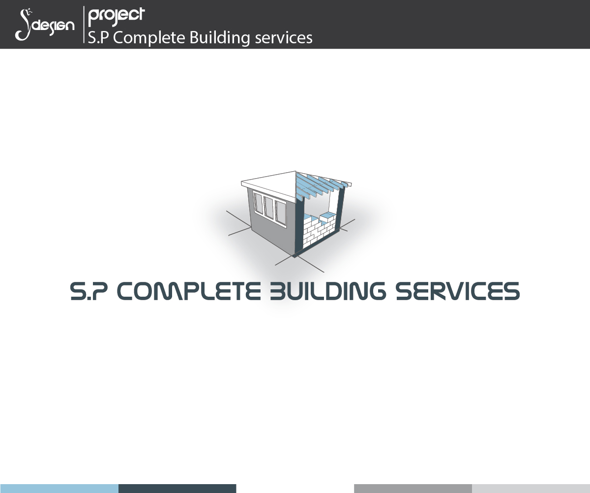 Logo design for s p complete building services by shemet for Building services design