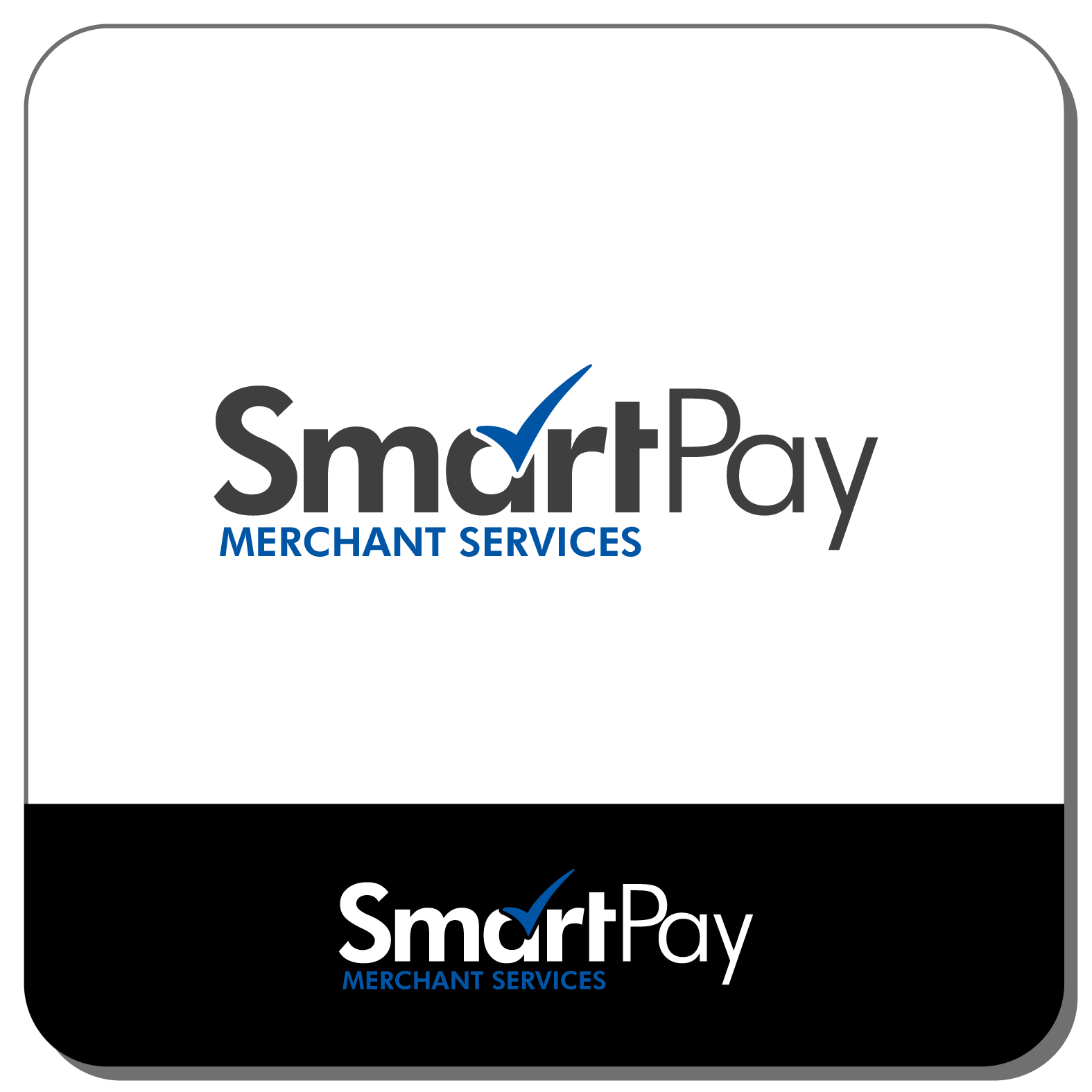 Fancy credit card processing business image business card ideas credit card logo design for smartpay merchant services by jace reheart Image collections