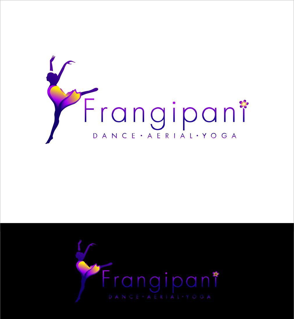 Bold, Playful, Dance Studio Logo Design for Frangipani by ...
