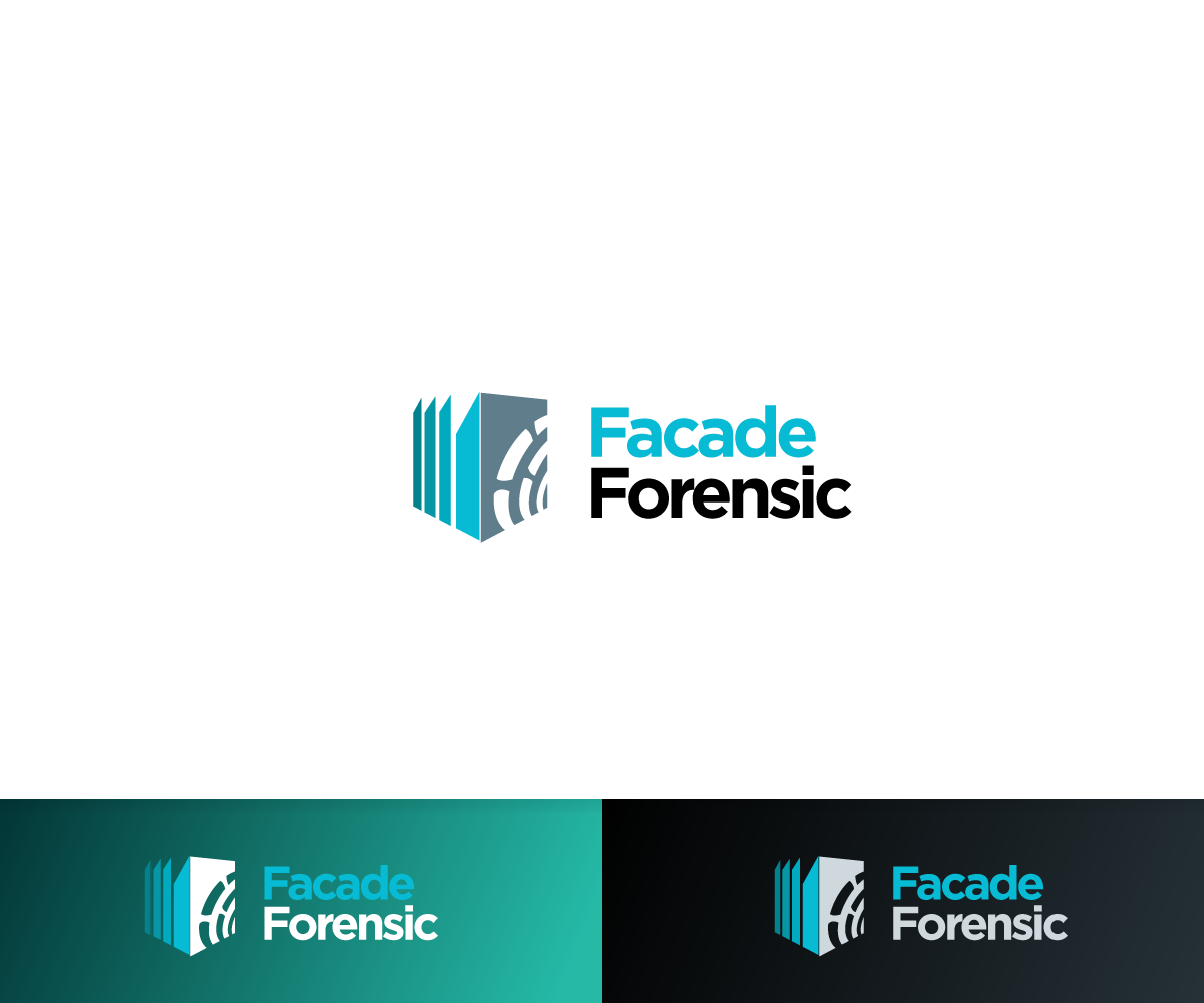 Elegant Playful Architecture Logo Design For Facade Forensic By Sergio Coelho Design 10114314