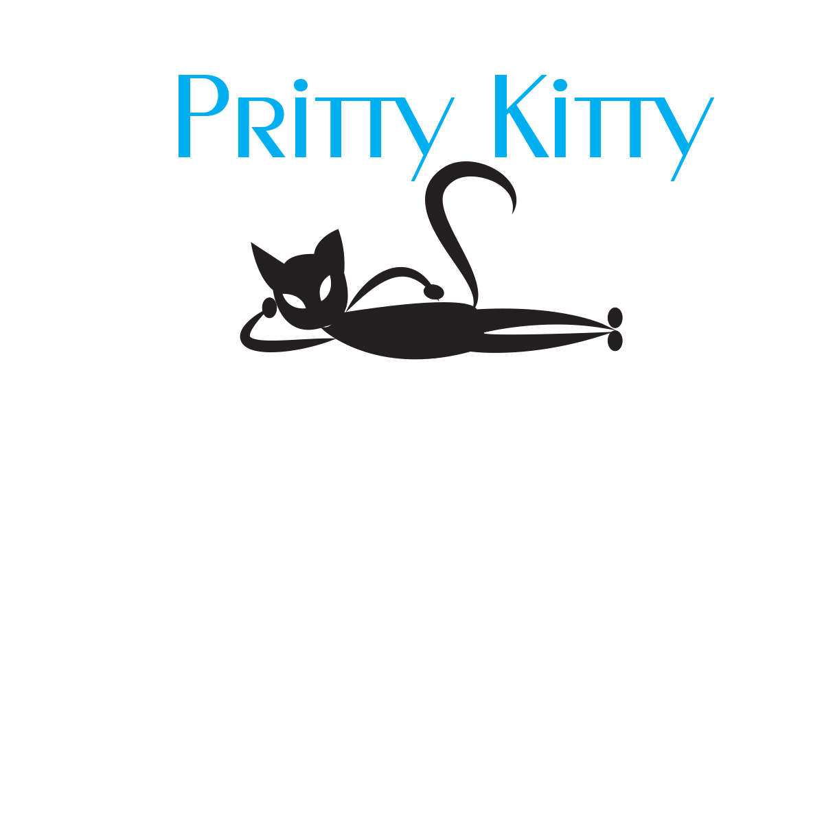 It company logo design for pritty kitty by graphic wizard for Logo creation wizard
