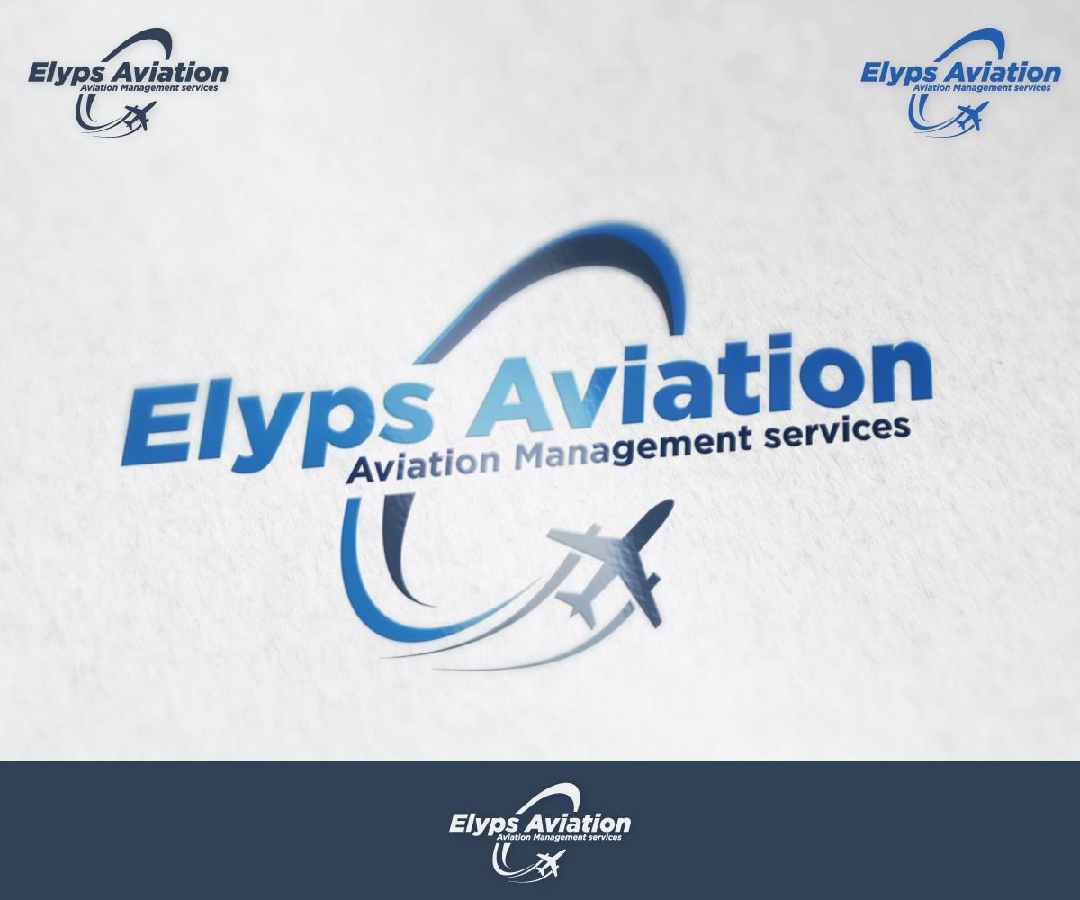 Modern Professional Logo Design For Elyps Aviation Gmbh