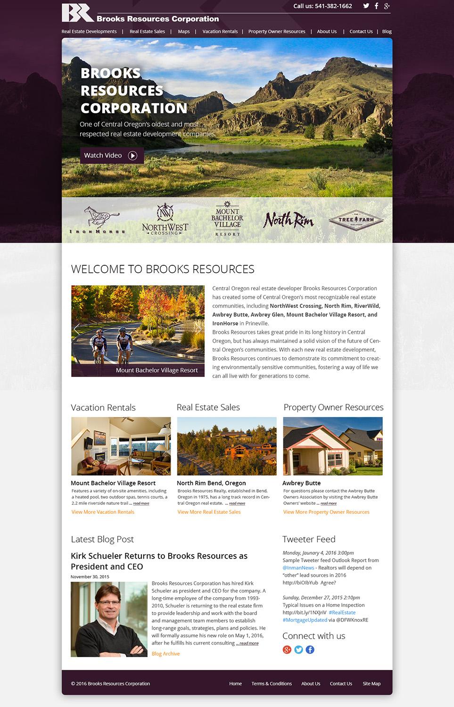 Upmarket Property Development Brochures : Elegant upmarket real estate development web design for