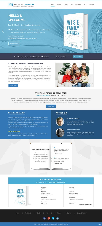 Elegant, Modern Web Design for a Company by pb | Design #9804600