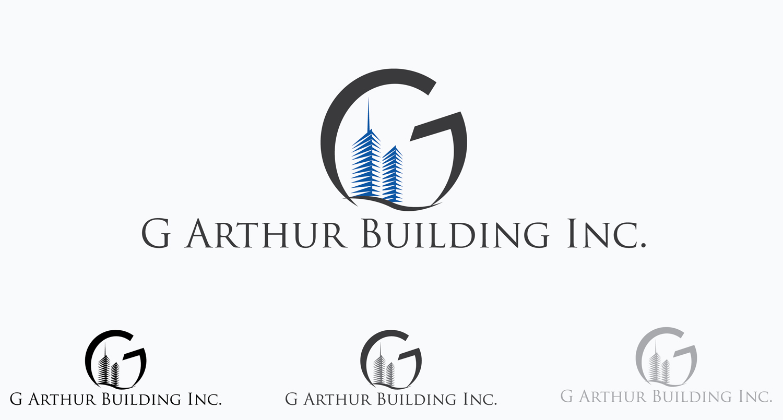 Masculine Bold Construction Company Logo Design For G Arthur Building Inc By Edmondhenry Design 9829800