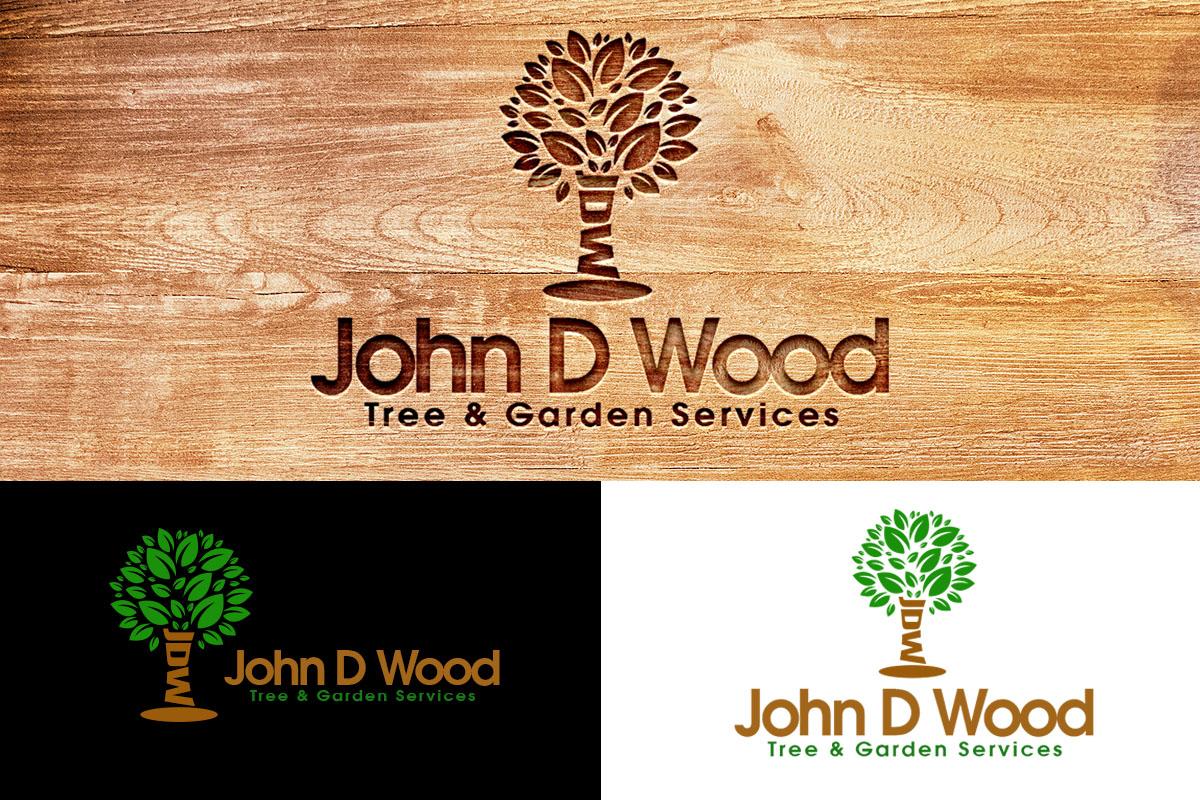Logo Design By Artianz For John D Wood Tree Garden Services
