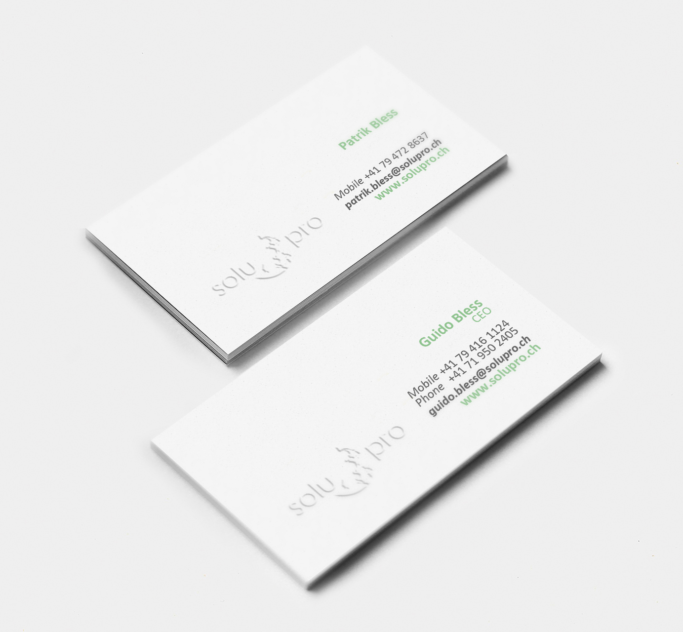 Elegant playful business business card design for a company by business card design by laispedroza22 for this project design 10296367 reheart Image collections