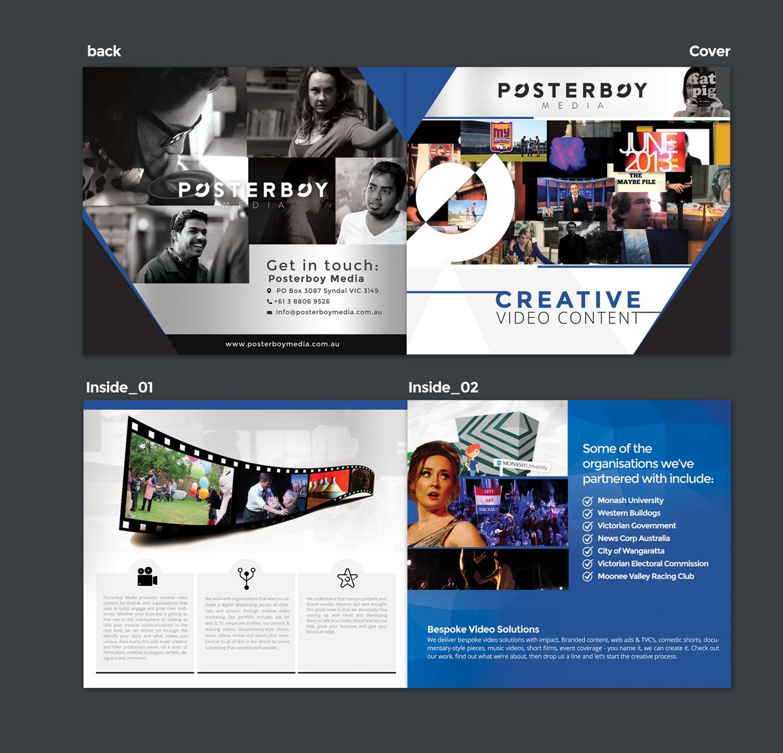 Bold, Modern Brochure Design for Company in Australia | Design 9750937