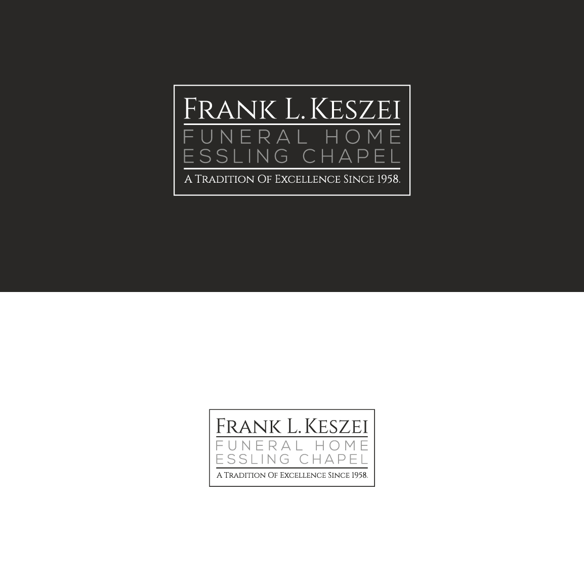 48 Serious Traditional Funeral Home Logo Designs For Frank L Keszei Funeral Home Essling
