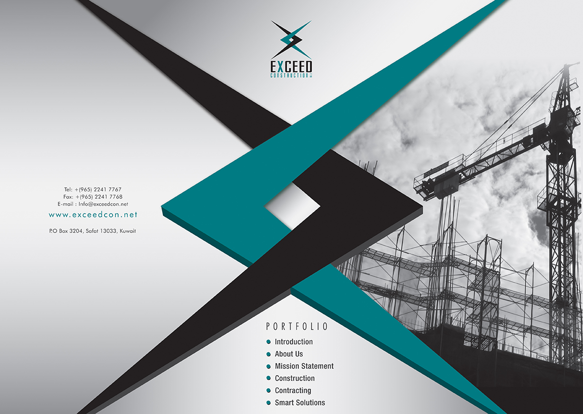 Elegant modern it company graphic design for exceed for Designing company