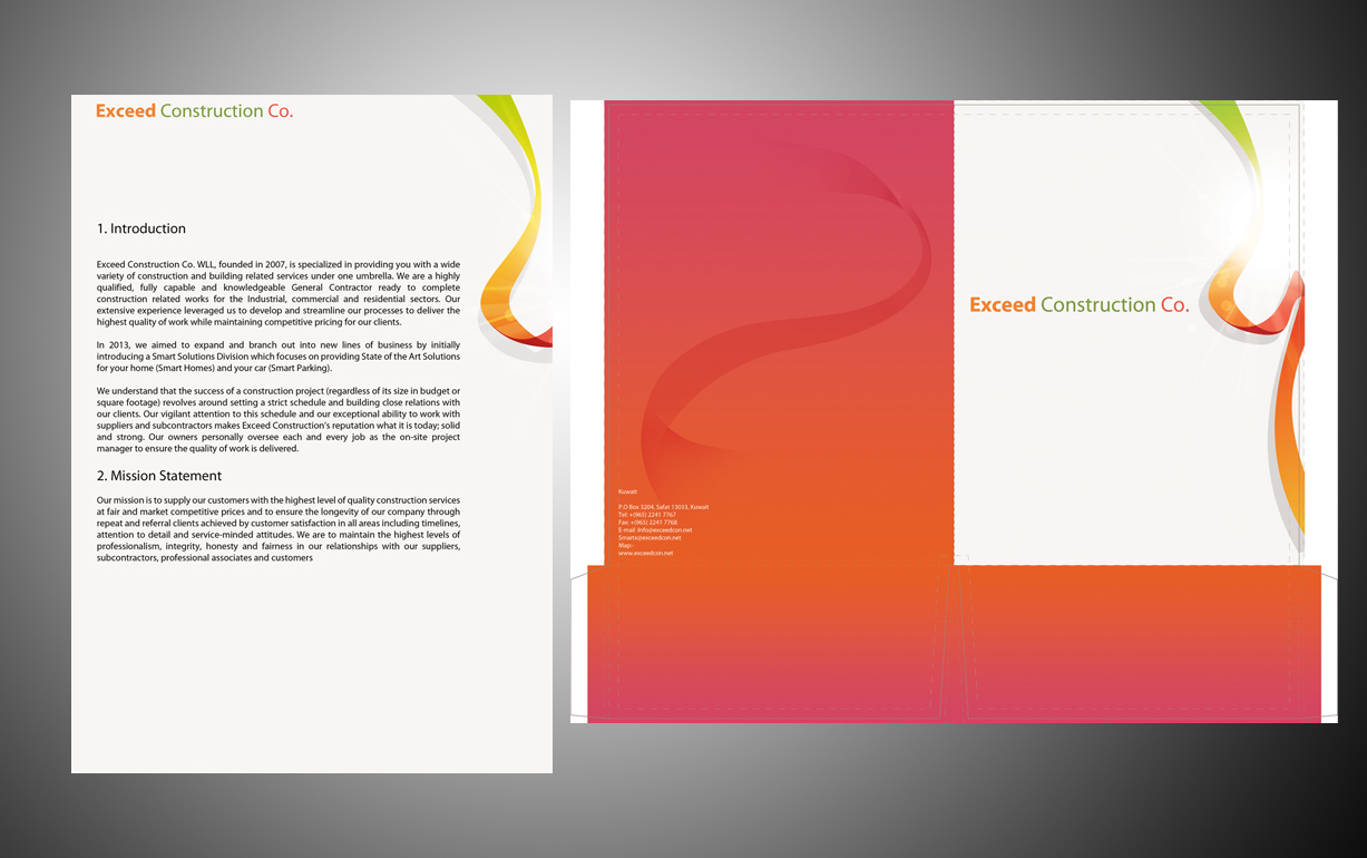 Elegant, Modern, It Company Graphic Design for Exceed