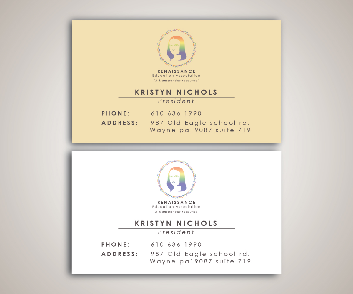 Elegant playful business card design by yuuki ouji design 9806133 business card design by yuuki ouji for transgender support group needs innovative business card and logo magicingreecefo Image collections