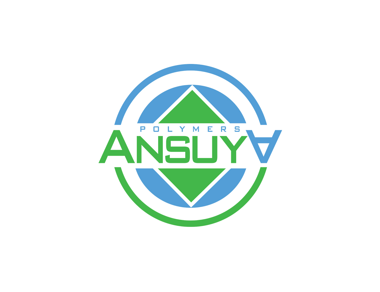 Modern upmarket logo design for ansuya polymers by goranvisnjic82 logo design by goranvisnjic82 for trade show logo design for a recycling and polymer trading company biocorpaavc Image collections