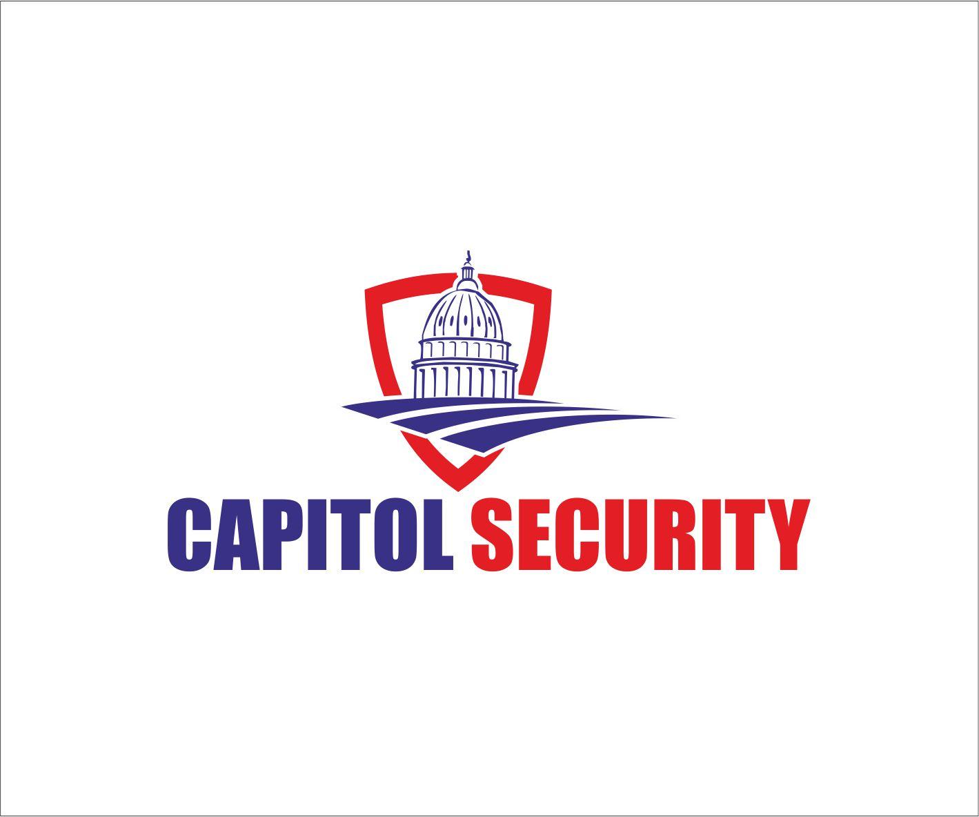 it company logo design for capitol security by stranger design 9790352. Black Bedroom Furniture Sets. Home Design Ideas