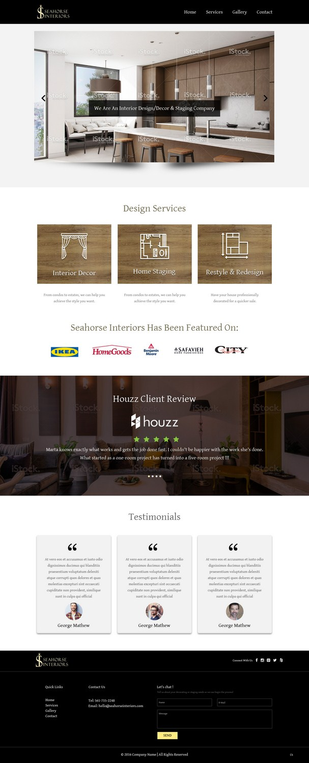 can interior designers work from home improvements