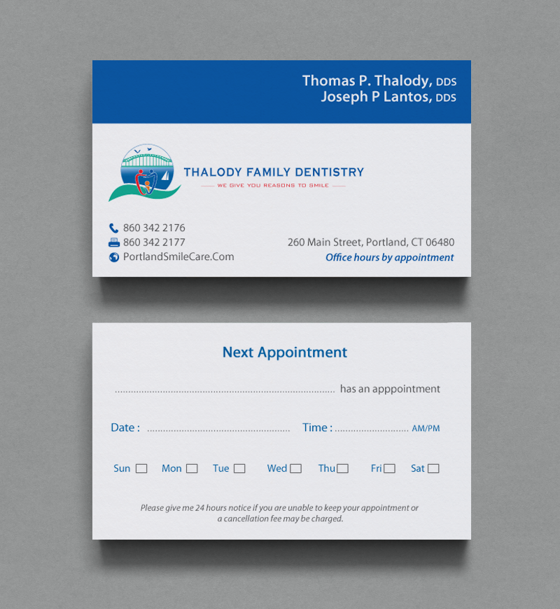 Serious, Modern Business Card Design for Thomas Thalody by ...