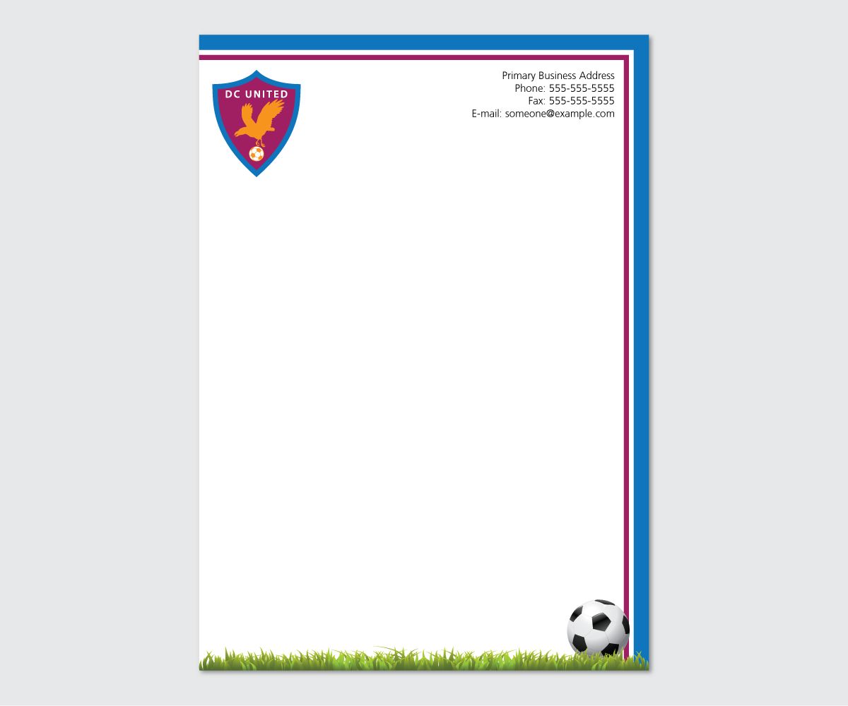 17 Bold Serious Conservative Letterhead Designs For A