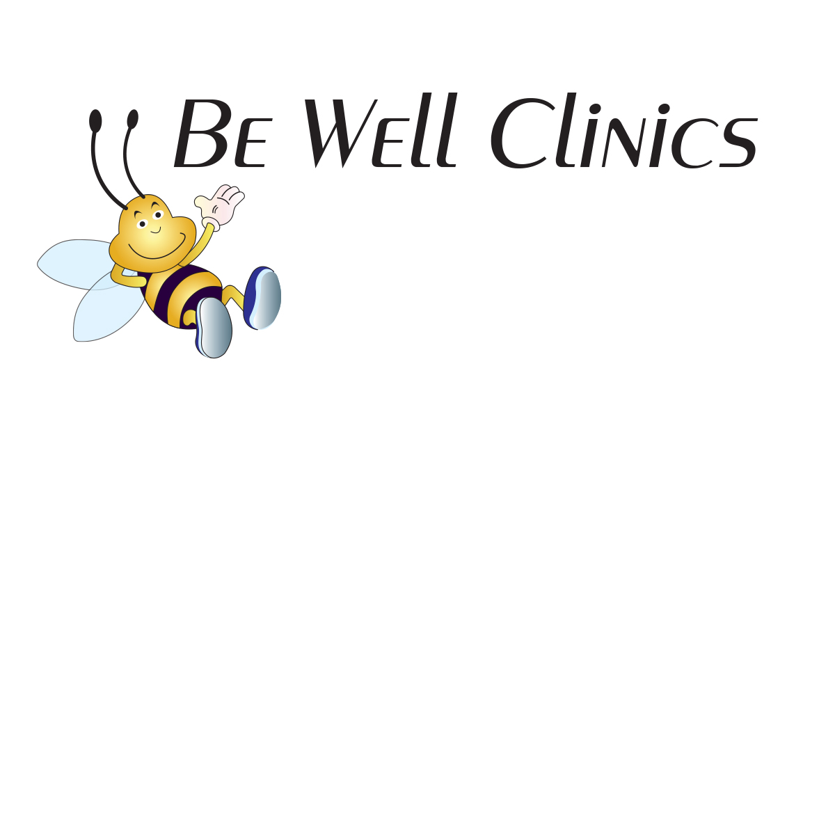 Bold modern clinic logo design for be well clinics by for Logo creation wizard