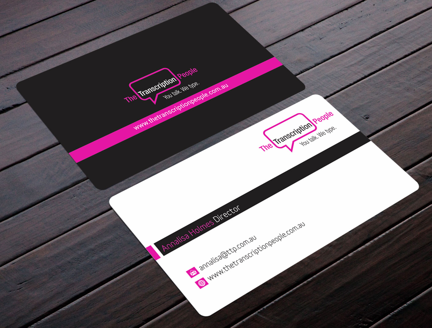 Business business card design for the transcription people pty ltd business business card design for the transcription people pty ltd in australia design 9792888 colourmoves