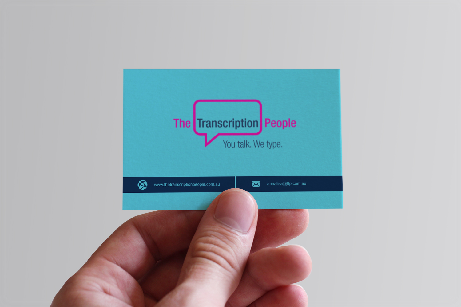 Business business card design for the transcription people pty ltd business business card design for the transcription people pty ltd in australia design 9784550 colourmoves