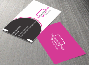 Business business card design for the transcription people pty ltd business card design by jetwebarts1989 for the transcription people pty ltd design 9792880 colourmoves