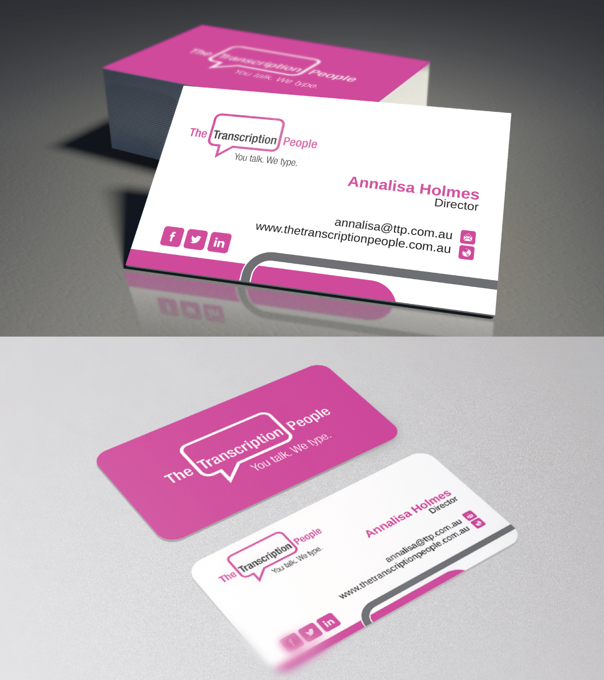 Business business card design for the transcription people pty ltd business business card design for the transcription people pty ltd in australia design 9780784 colourmoves