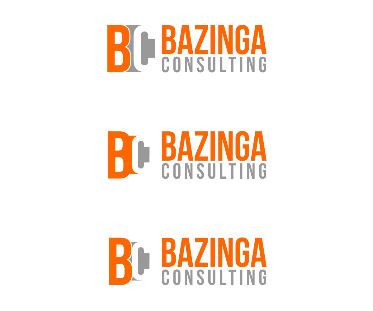 Bold modern logo design for bazinga consulting by rakesh for Boutique design consultancy