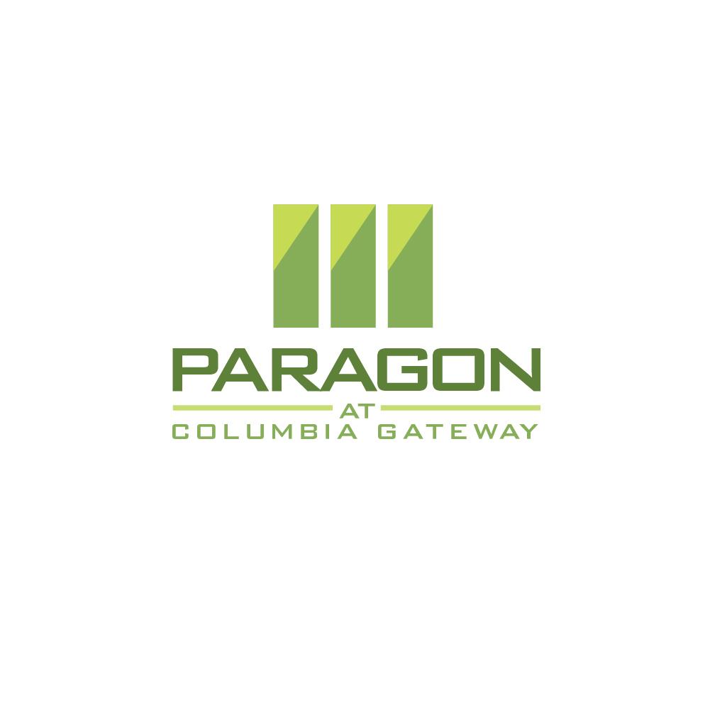 Apartment logo design for paragon at columbia gateway by for Apartment logo design