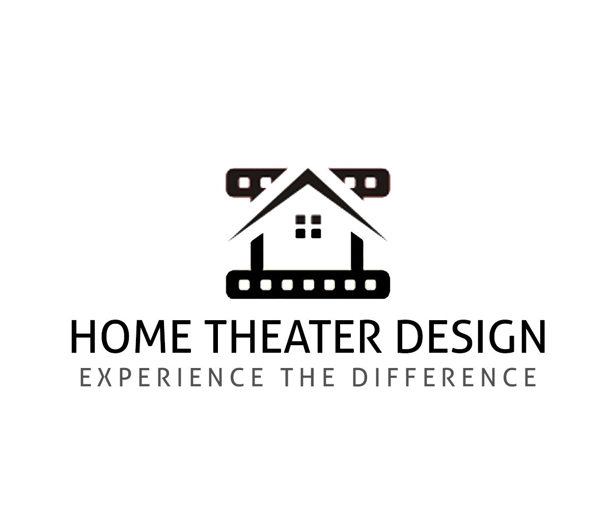 bold  modern  industry logo design for home theater design