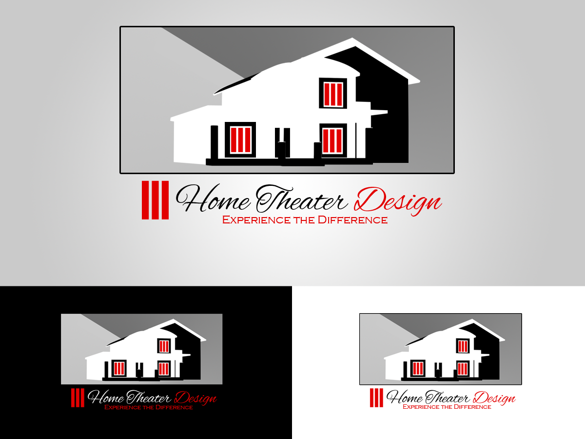 Bold, Modern, Industry Logo Design for Home Theater Design by ...