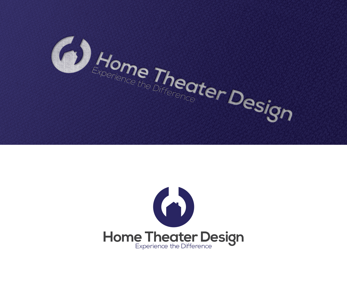 Bold, Modern Logo Design for Home Theater Design, LLC by AGD ...