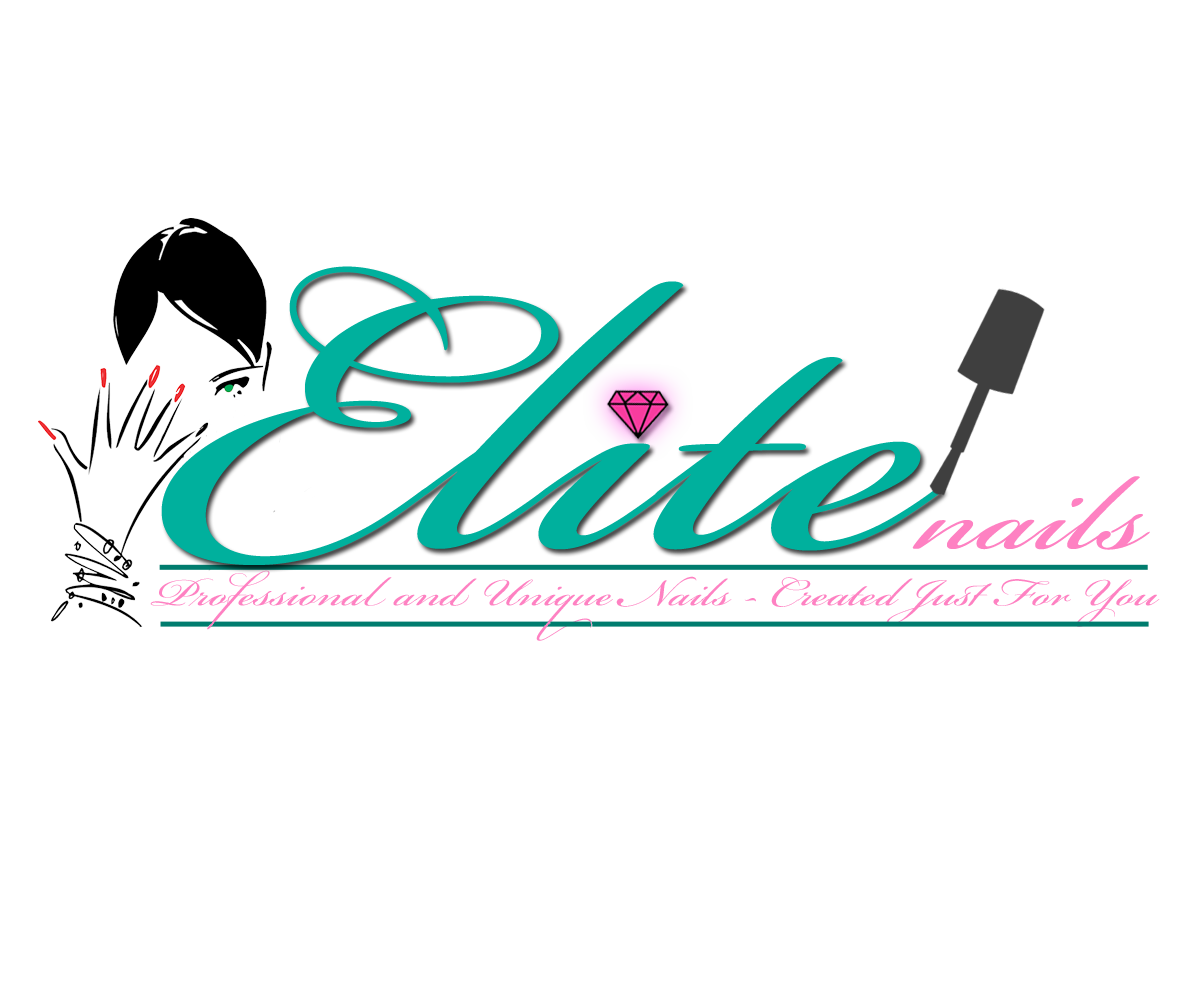 Logo Design By Applied Logic For Elite Nails Teresa