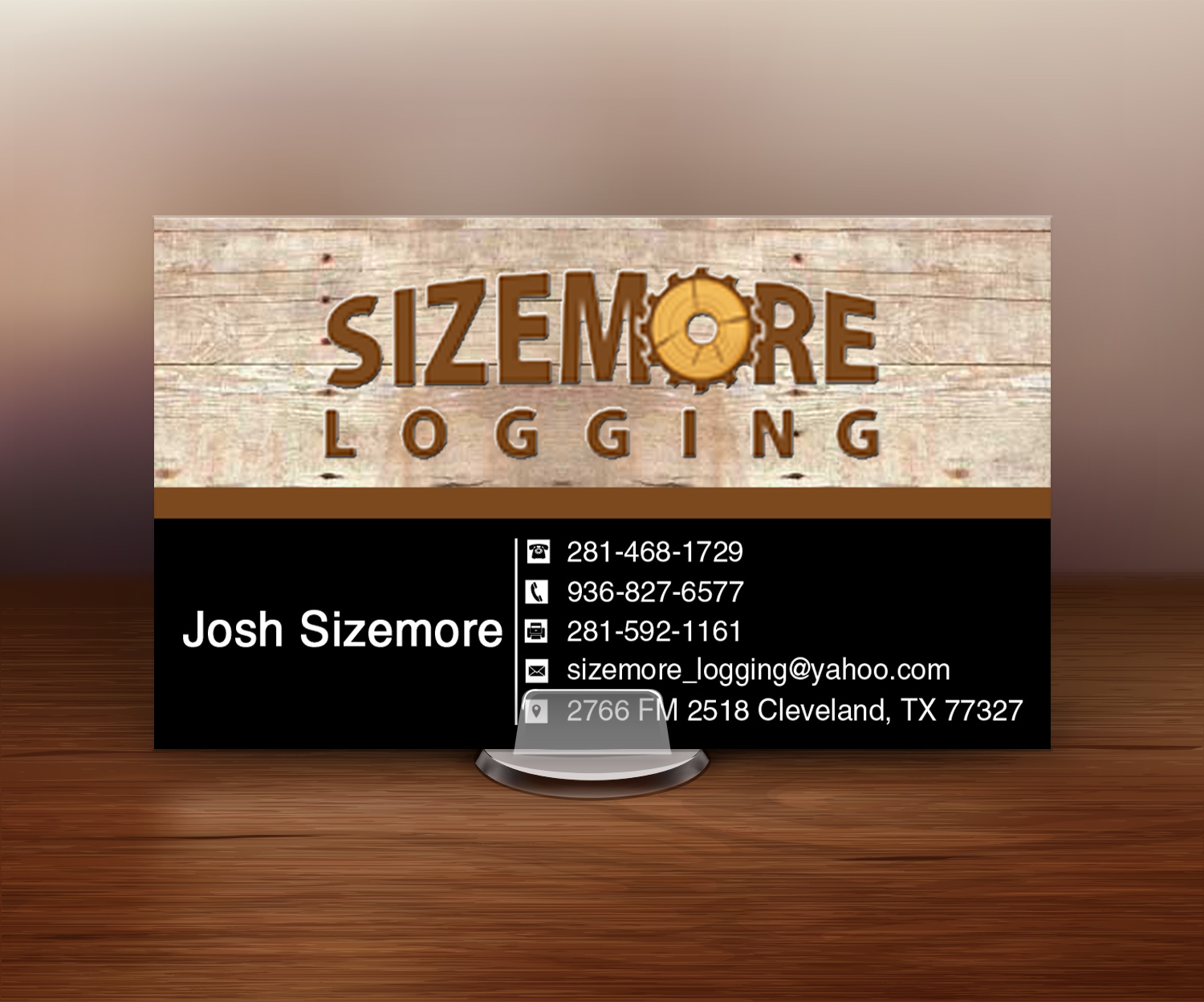 Awesome Logging Business Cards Gallery - Business Card Ideas ...