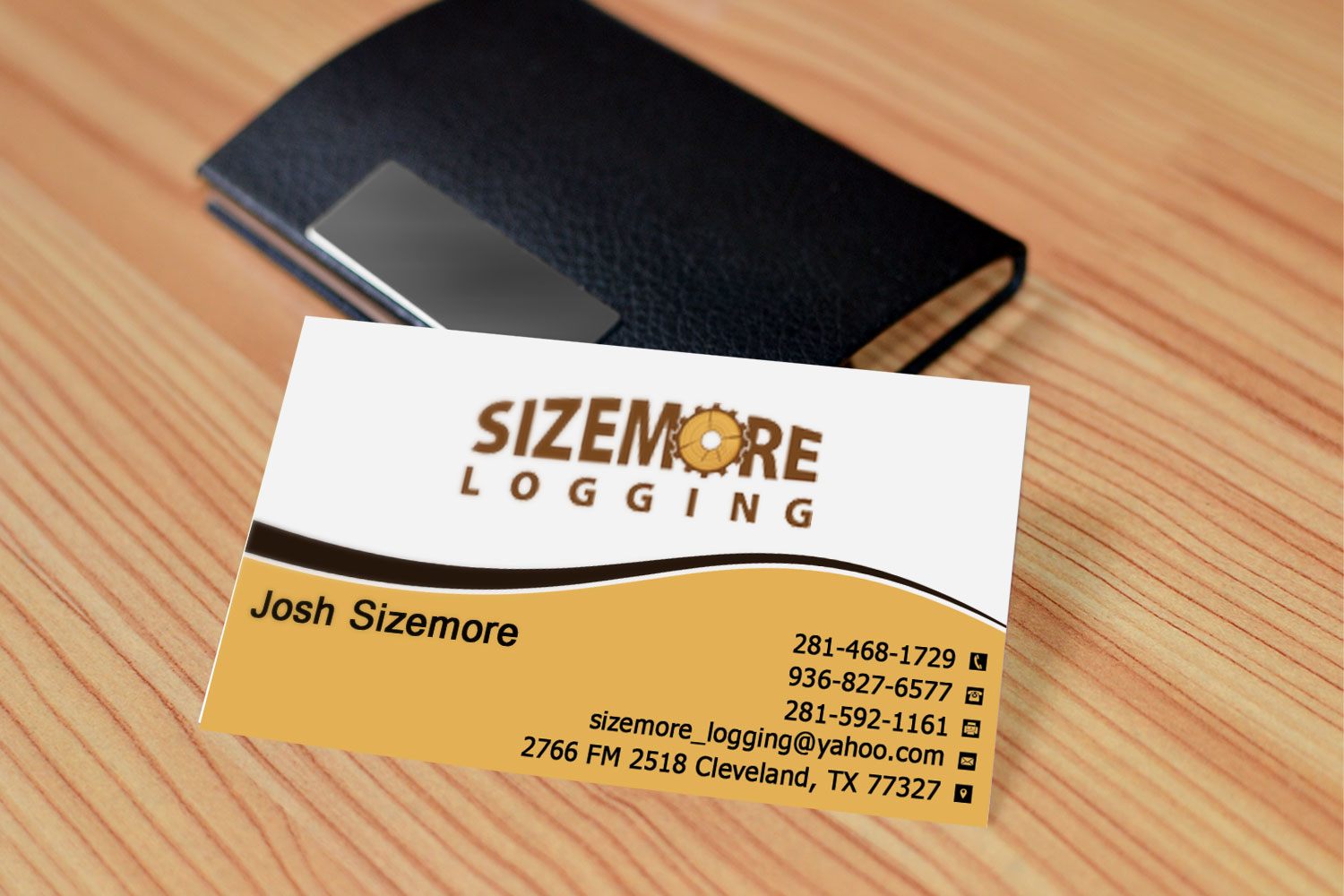 Traditional, Elegant Business Card Design for Joshua Sizemore by ...