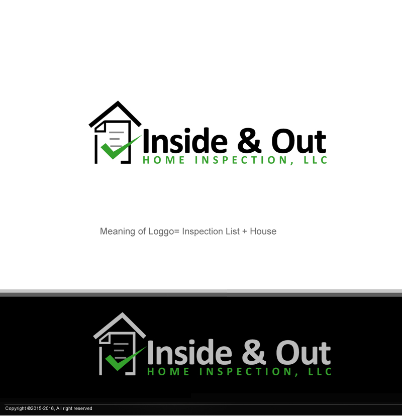 Logo Design By Perfect Logo Designs For Home Inspection Logo Design   Design  #9815430