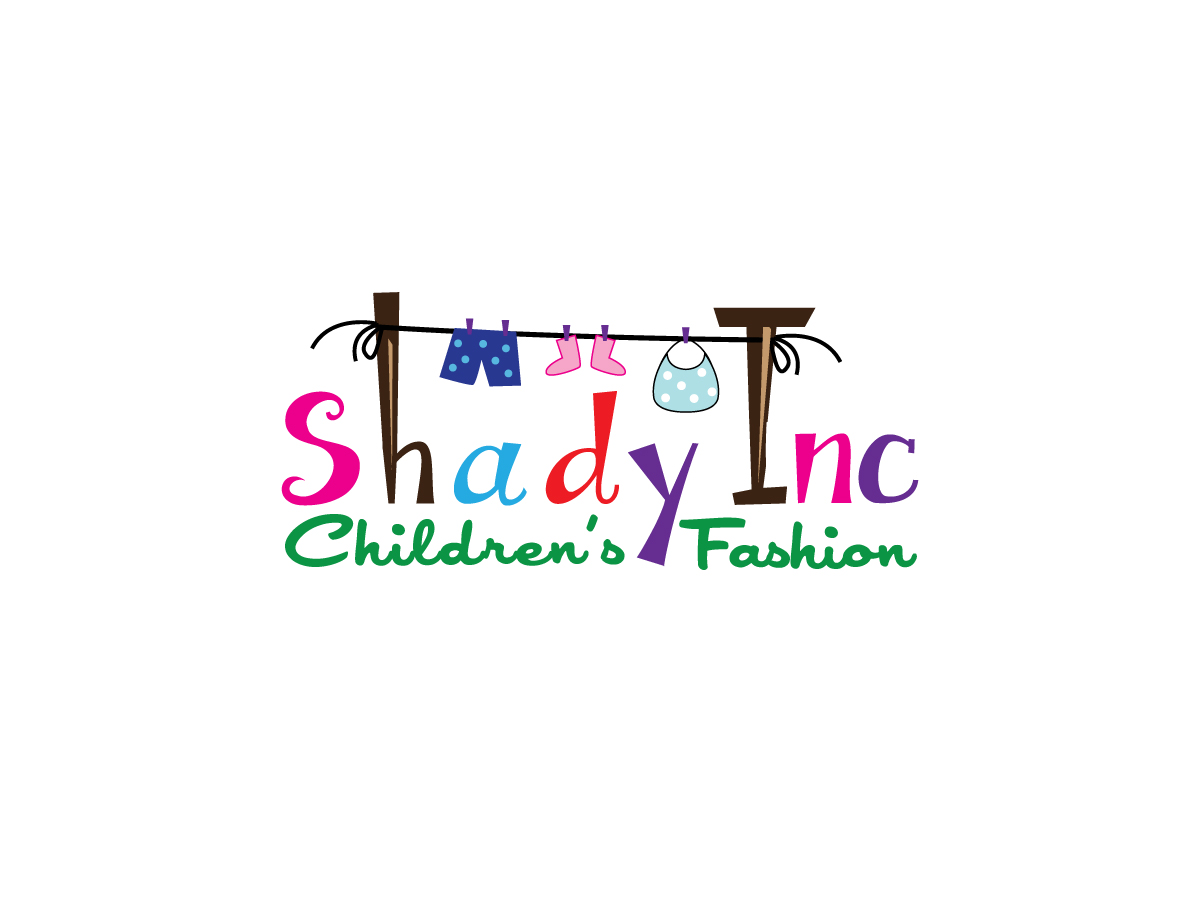 elegant serious clothing logo design for shadykidz or