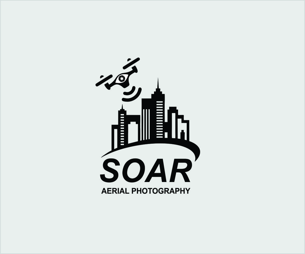 It Company Logo Design For Soar Aerial Photography In Australia