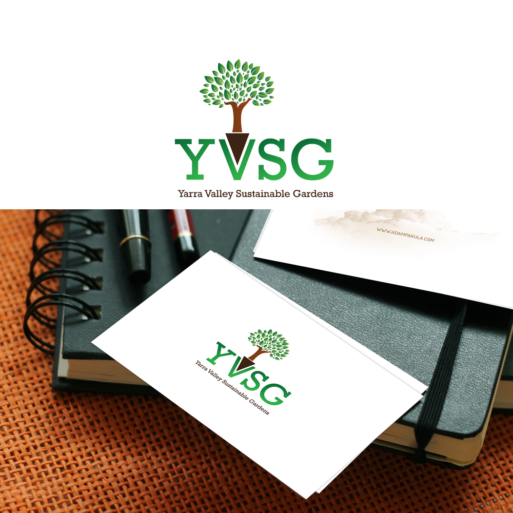 Logo design for yarra valley sustainable gardens by zayed for Garden design yarra valley