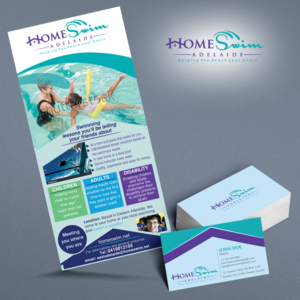 Awesome Flyer Design For Home Swim By Kreative Fingers