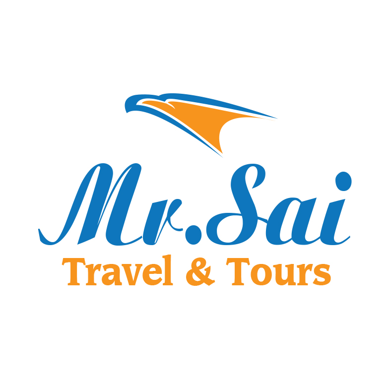 Modern Colorful Tourism Logo Design For Mr Sai Travel