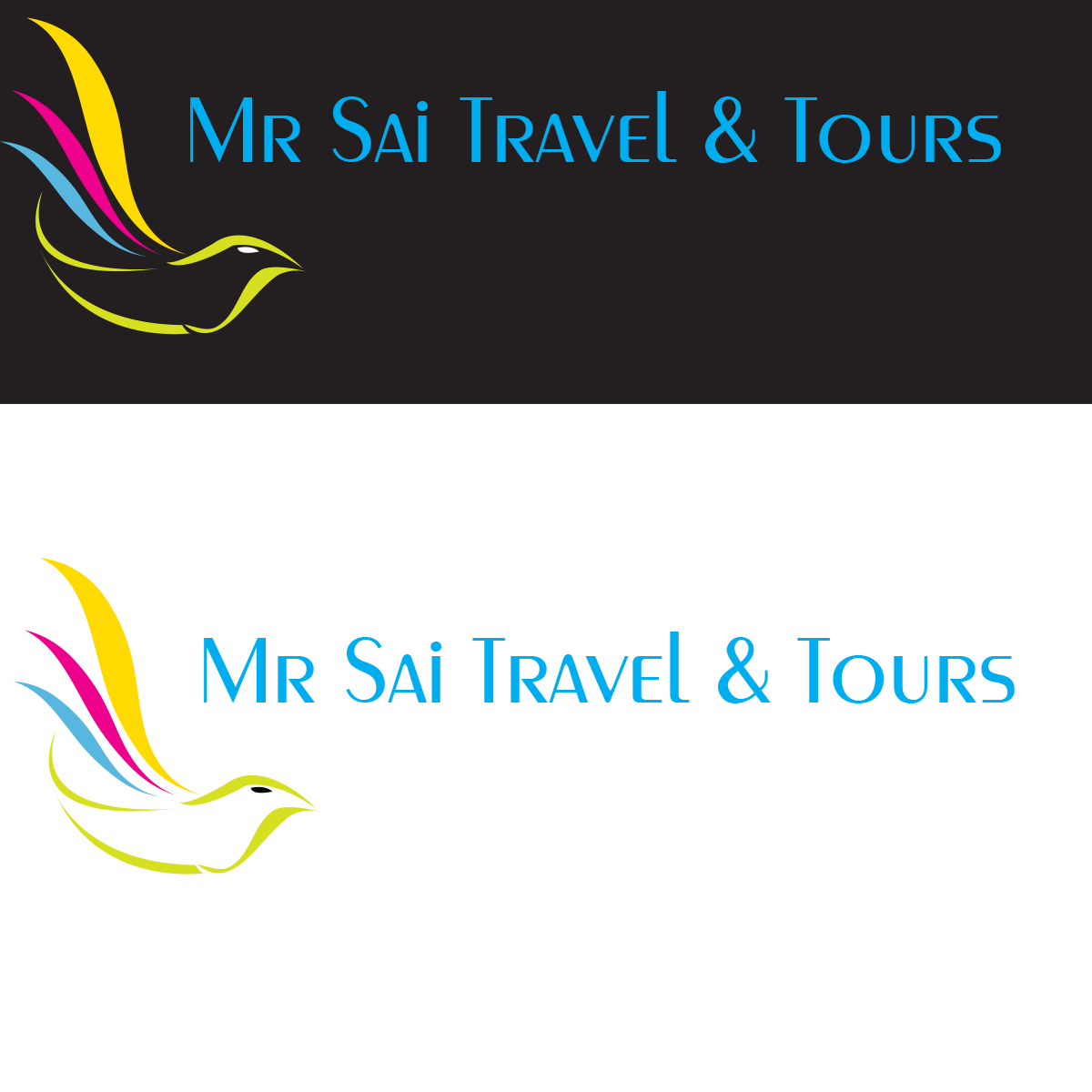 Modern colorful tourism logo design for mr sai travel for Logo creation wizard