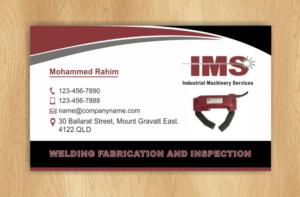 214 elegant playful welding business card designs for a for Welding business card ideas