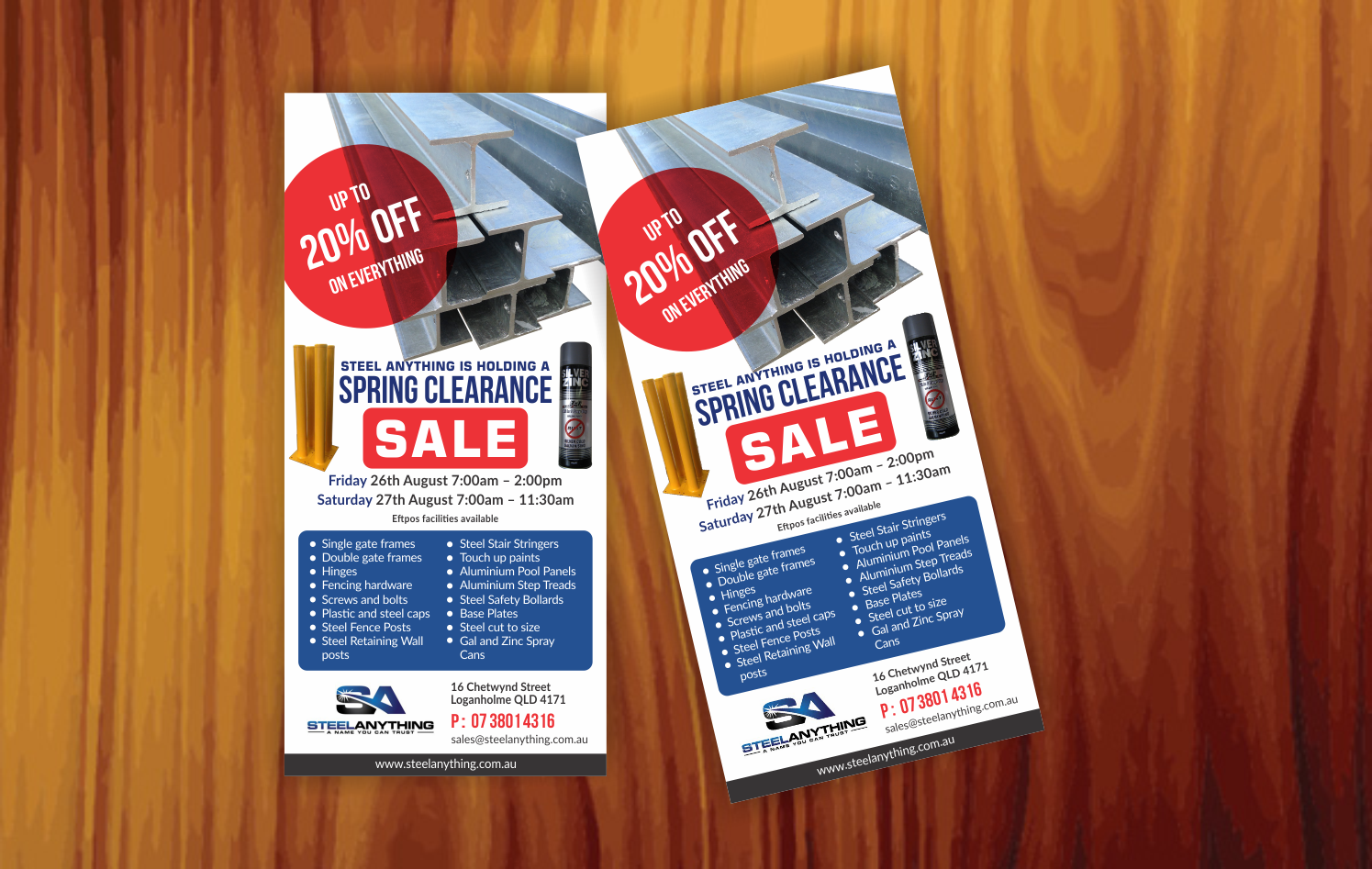 e62f34de1c0 Flyer Design by SEOanalyst for Steel Anything