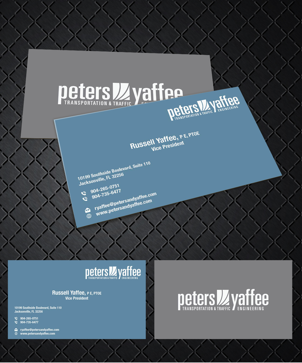 Elegant playful business business card design for a company by business card design by joliau for this project design 9899386 reheart Choice Image