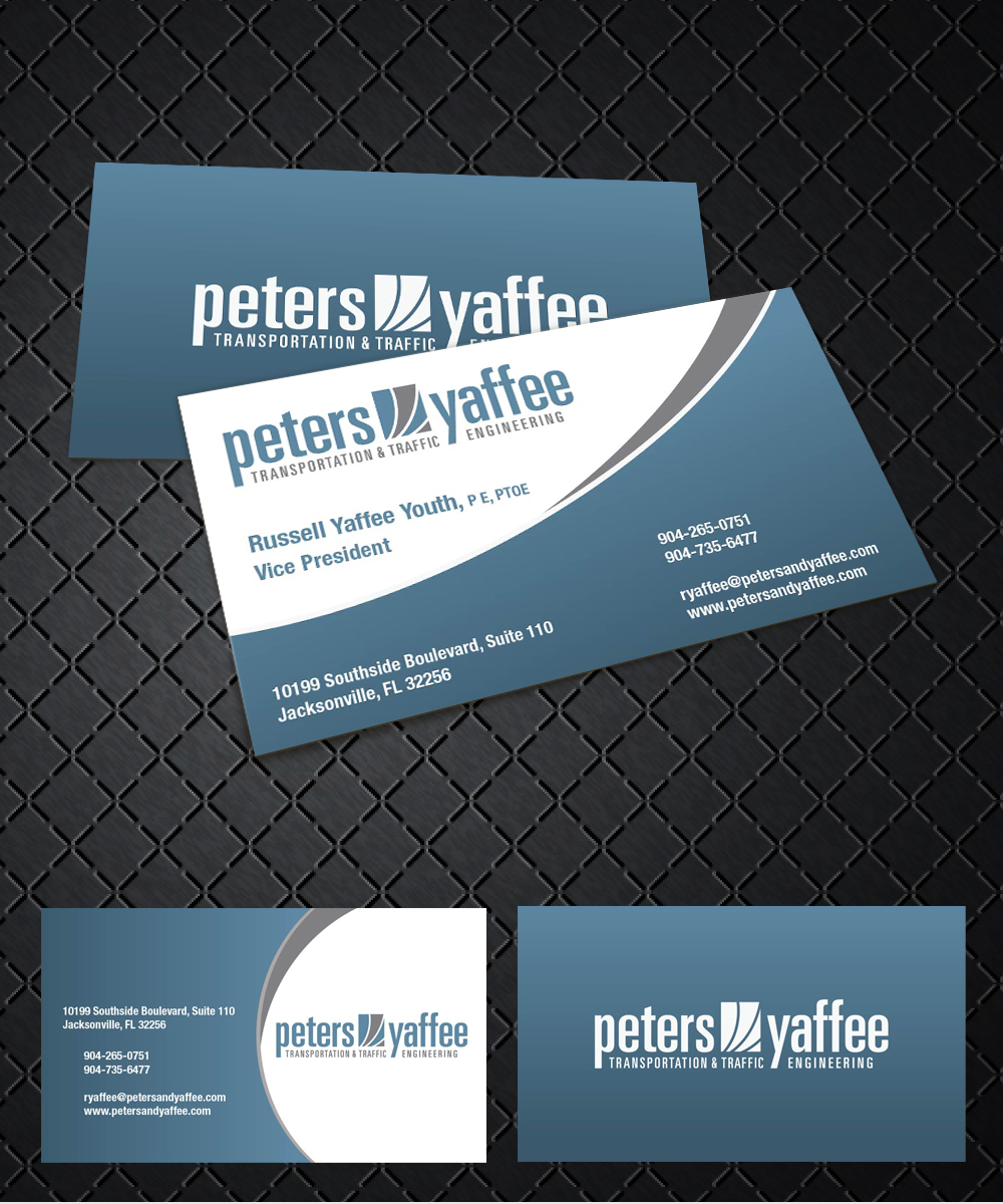 Elegant playful business business card design for a company by business card design by joliau for this project design 9912004 reheart Choice Image