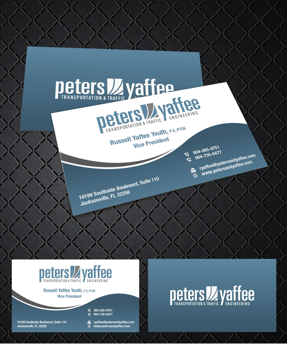 Elegant playful business business card design for a company by business card design by joliau for this project design 9919490 reheart Choice Image