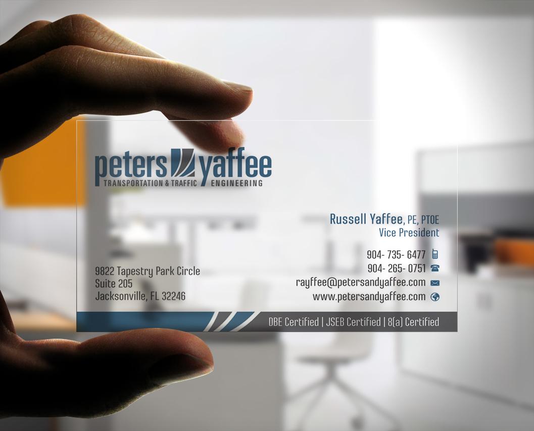 Transparent Business Card Designs | 23 Transparent Business Cards to ...