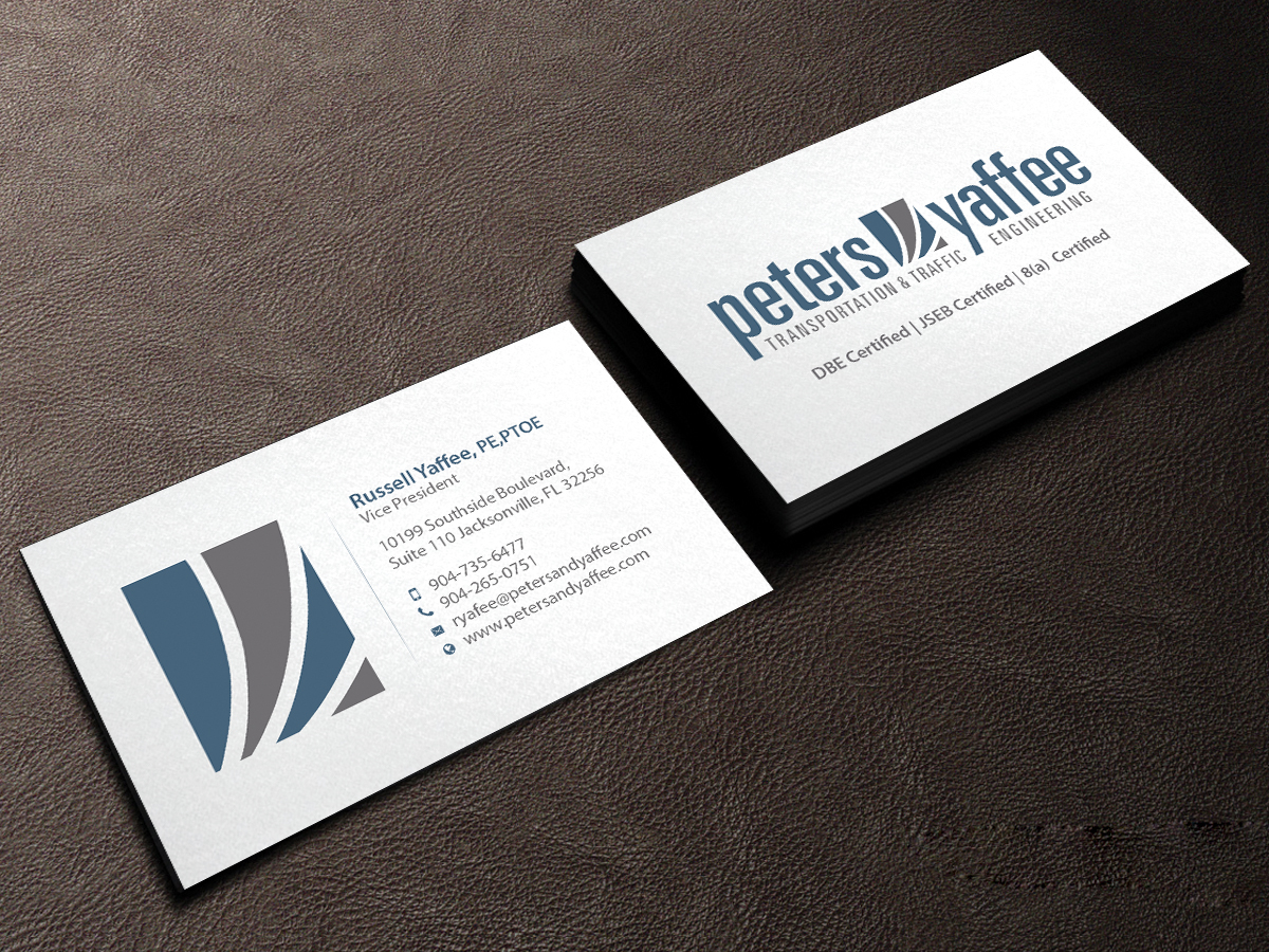 Elegant playful business business card design for a company by business card design by creations box 2015 for this project design 9914349 reheart Choice Image