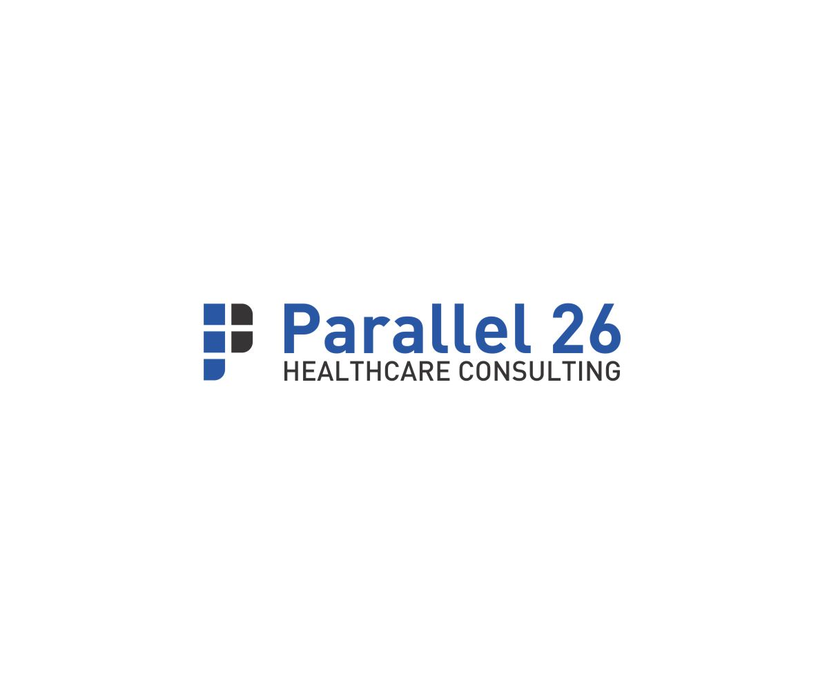 Serious professional healthcare logo design for parallel for Consulting company logo