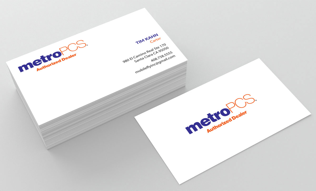 Business Card Design for mobilefly inc by jetweb | Design #9897892